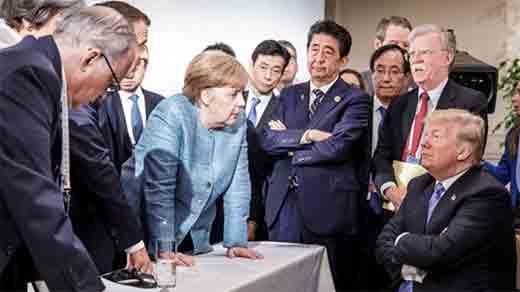 To φιάσκο της διάσκεψης των G7 και οι επιπτώσεις για την Ευρώπη
